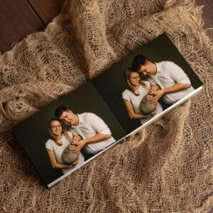 newborn fotoboek rijen